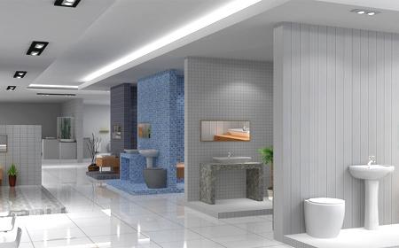 厨房卫浴展示店设计|形象设计